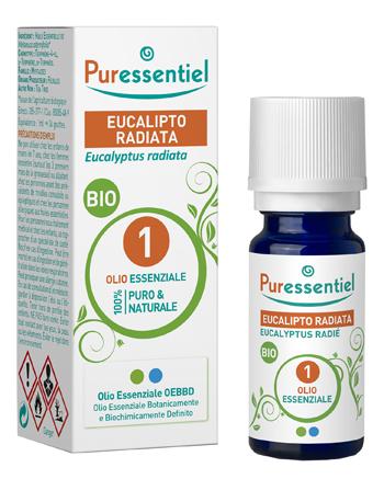 PURESSENTIEL EUCALIPTO RADIATA OLIO ESSENZIALE BIO 10 ML - Farmacia Castel del Monte