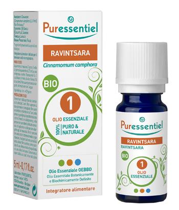 PURESSENTIEL RAVINTSARA OLIO ESSENZIALE BIO 5 ML - Farmalke.it