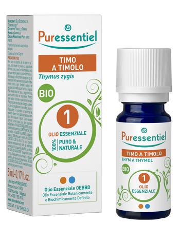 PURESSENTIEL TIMO TIMOLO OLIO ESSENZIALE BIO 10 ML - SUBITOINFARMA