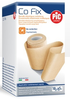 BENDA ELASTICA PIC CO FIX AUTOADESIVA 8X5CM MEDIUM - Farmacia 33