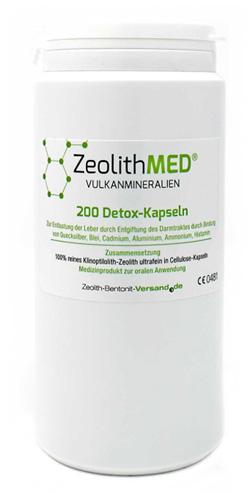 ZEOLITE MED DETOX 200 CAPSULE - Spacefarma.it