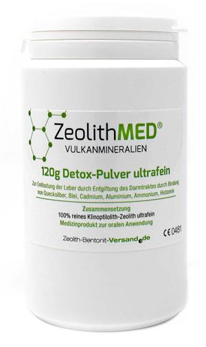 ZEOLITE MED DETOX POLVERE 120 G - pharmaluna