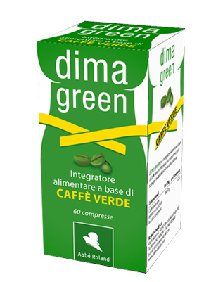 CAFFE' VERDE DIMA GREEN 60 COMPRESSE