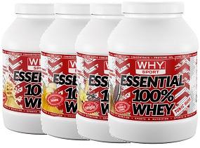 ESSENTIAL 100% WHEY VANIGLIA 750 G