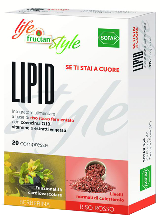 FRUCTAN LIPID 20 Compresse - Farmapage.it