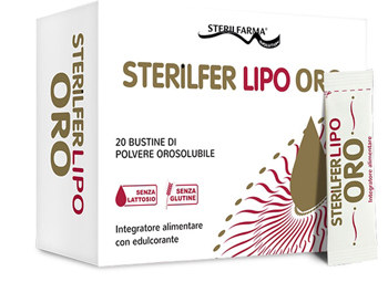 STERILFER LIPO ORO 20 BUSTINE - Parafarmacia Tranchina