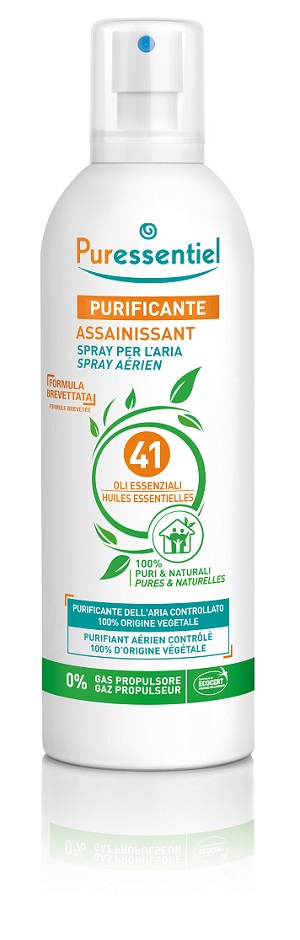 PURESSENTIEL SPRAY PURIFICANTE 41 OLI ESSENZIALI 75 ML - Farmafamily.it