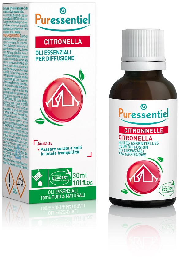 MISCELA CITRONELLA PER DIFFUSIONE 30 ML - farmaventura.it