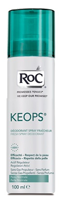 ROC KEOPS DEODORANTE SPRAY FRESCO 100 ML - Farmajoy