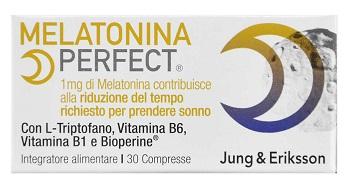 MELATONINA PERFECT JUNG & ERIKSSON 30 COMPRESSE - Farmalke.it