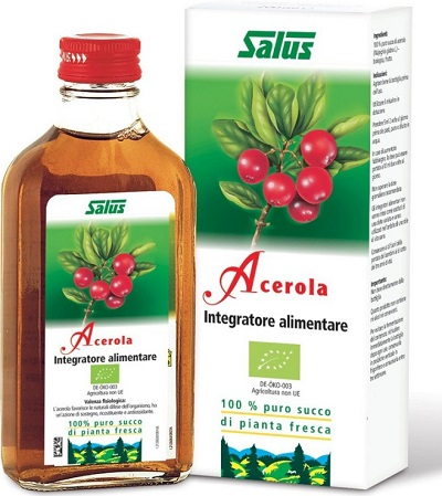 ACEROLA SUCCO 200 ML BIO - Farmastar.it