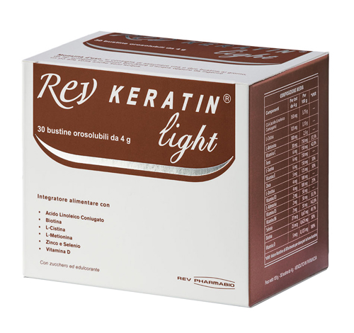 REV KERATIN LIGHT 30 BUSTE 120 G - Farmabenni.it