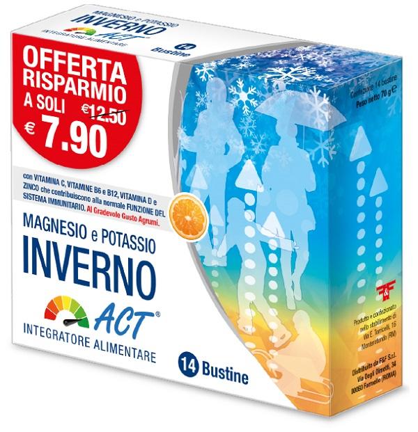 MAGNESIO E POTASSIO INVERNO ACT 14 BUSTINE 5 G - Farmacia Massaro