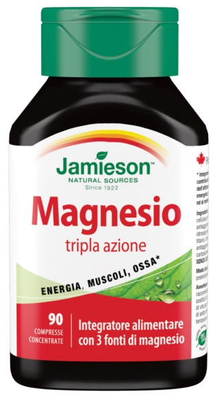 MAGNESIO 250 COMPLEX JAMIESON 90 COMPRESSE - Spacefarma.it