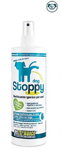 PETFORMANCE STOPPY DISABITUANTE IGIENICO PER CANI 350 ML - Farmastar.it