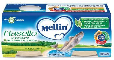 MELLIN OMOGENEIZZATO NASELLO 2 X 80 G - Farmacia Massaro