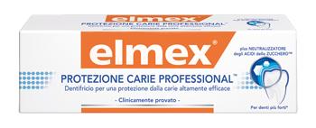 DENTIFRICIO ELMEX PROTEZIONE CARIE PROFESSIONAL - Farmafamily.it