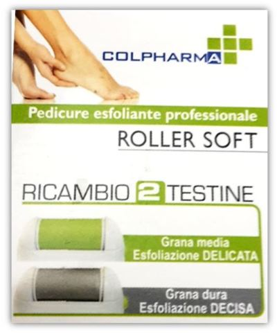 ROLLER SOFT ESFOLIANTE PROFESSIONALE PER PEDICURE - Farmastop