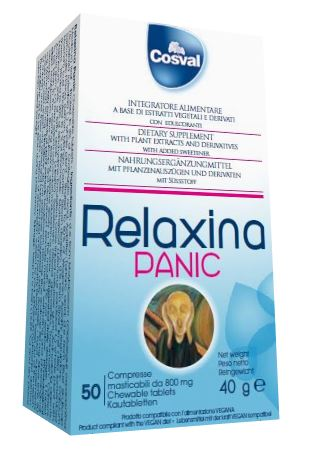 RELAXINA PANIC 50 CAPSULE