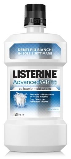 LISTERINE ADVANCE WHITE 250 ML - farmaciadeglispeziali.it