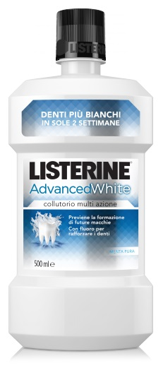 LISTERINE ADVANCE WHITE 500 ML - Farmajoy