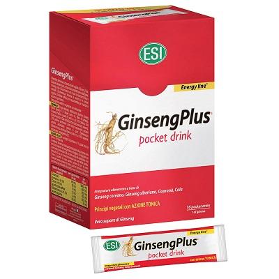 Esi GinsengPlus Integratore Energizzante 16 Pocket Drink