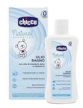 CHICCO OLIO BAGNO NATURAL SENSATION 200 ML - Farmaseller