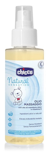 CHICCO OLIO MASSAGGIO NATURAL SENSATION 100 ML - Farmabaleno