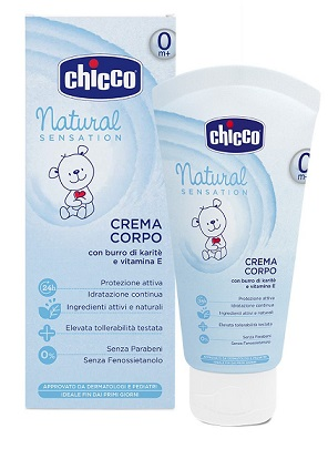 CHICCO CREMA CORPO NATURAL SENSATION 150 ML - farmaciadeglispeziali.it