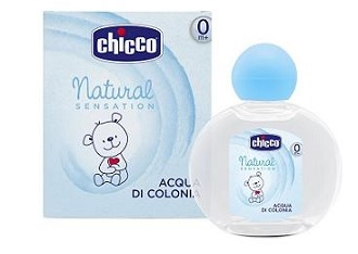 CHICCO ACQUA DI COLONIA NATURAL SENSATION 100 ML - farmaciadeglispeziali.it