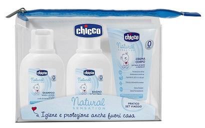 CHICCO SET VIAGGIO NATURAL SENSATION - Farmabros.it