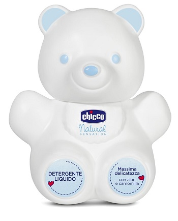 Chicco Orsetto  Natural Sensation Detergente Liquido 300ml - Farmaconvenienza.it