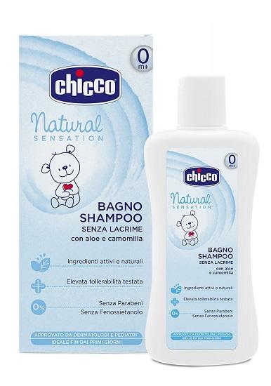 CHICCO BAGNO SHAMPOO NATURAL SENSATION 200 ML - farmaciadeglispeziali.it