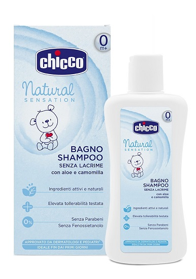 CHICCO BAGNO SHAMPOO NATURAL SENSATION 200 ML - Farmaciapacini.it