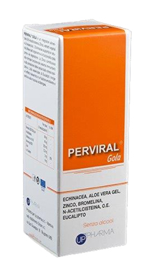 PERVIRAL GOLA SPRAY ORALE 30 ML - Farmia.it
