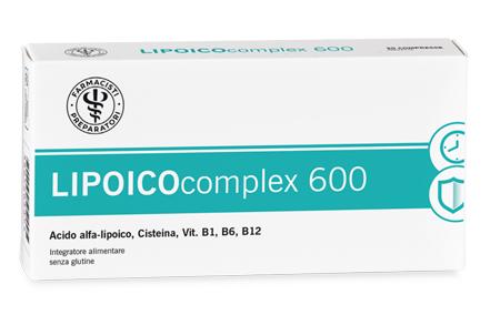 LFP LIPOICOCOMPLEX 600 30 COMPRESSE - DrStebe
