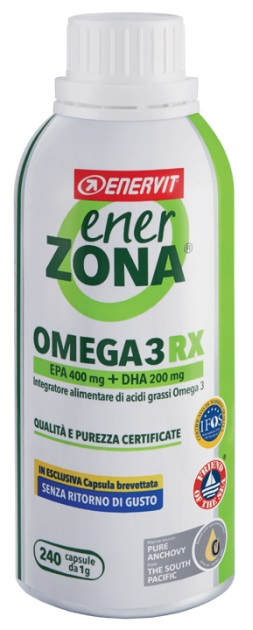 ENERZONA OMEGA 3 RX 240 CAPSULE - Spacefarma.it