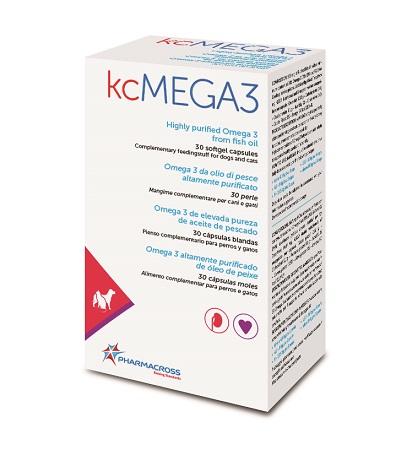 KCMEGA3 OMEGA3 DA OLIO DI PESCE 30 PERLE - Farmacia33