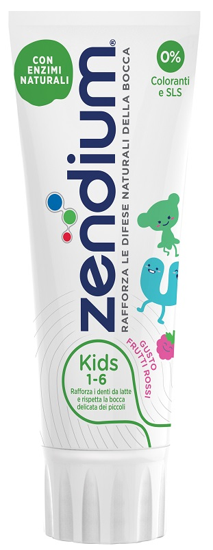 ZENDIUM KIDS DENTIFRICIO 75 ML - Farmaseller