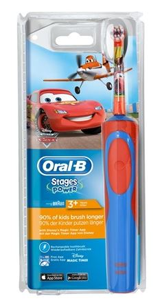 ORALB POW VITALITY STAGES POWER CARS/PLANES - Farmabros.it