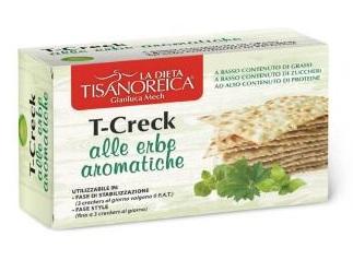 T-CRECK CRACKERS ERBE AROMATICHE 100 G - La farmacia digitale