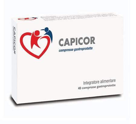CAPICOR 40 COMPRESSE GASTROPROTETTE - Zfarmacia