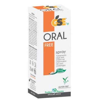 GSE ORAL FREE SPRAY 20 ML - Farmabenni.it