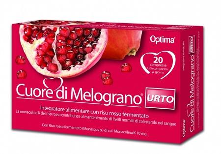 CUORE DI MELOGRANO URTO 20 COMPRESSE 906 MG - latuafarmaciaonline.it