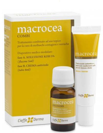 MACROCEA COMBI SOLUZIONE 5 ML + CREMA 8 ML - farmaciadeglispeziali.it