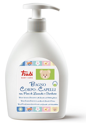 TRUDI BABY CARE BAGNO CORPO/CAPELLI 500 ML - Carafarmacia.it
