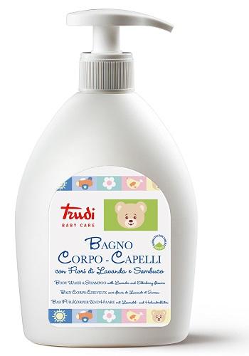 TRUDI BABY CARE BAGNO CORPO/CAPELLI 500 ML - Farmacia Massaro