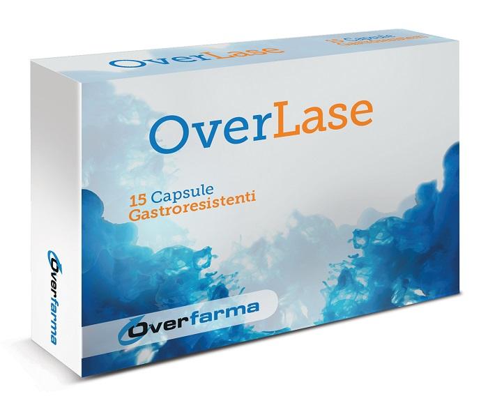 OVERLASE 15 CAPSULE GASTRORESISTENTI - Farmacia Centrale Dr. Monteleone Adriano