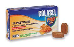 GOLASEL PRO PROPOLI/MIELE 18 PASTIGLIE - Farmalandia