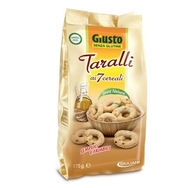 GIUSTO SENZA GLUTINE TARALLI 175 G - FARMAPRIME